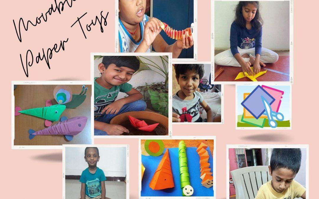 Paper Toys Grade 1