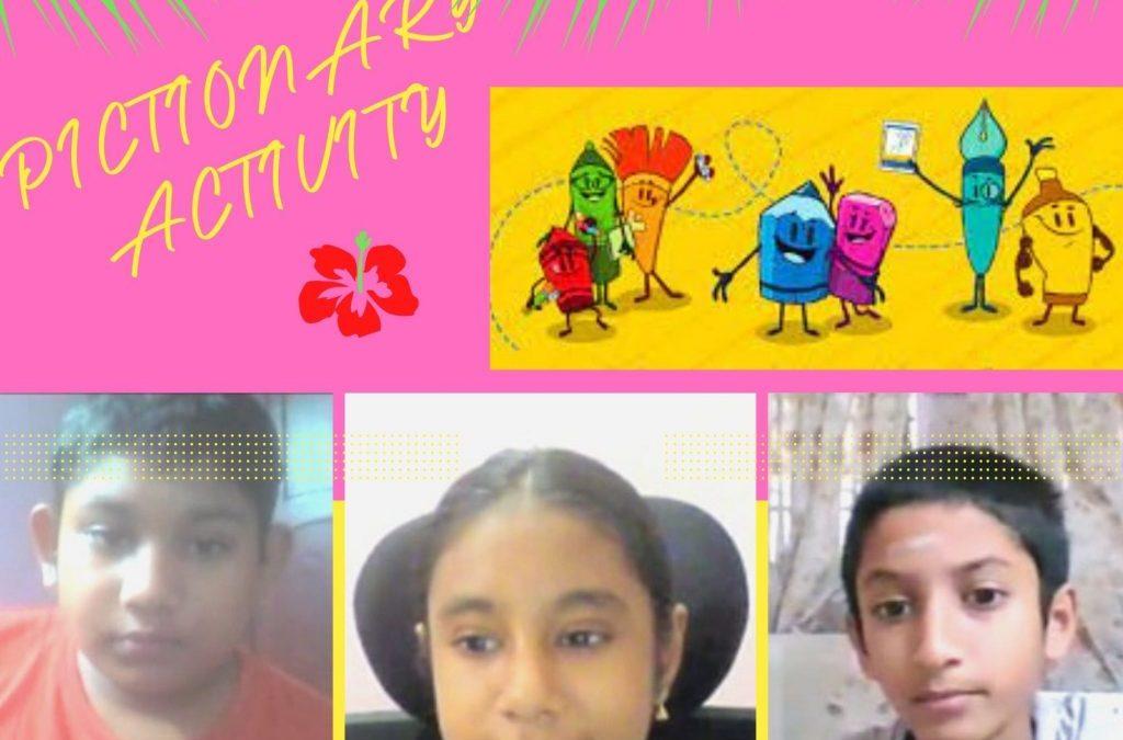 Grade 7 Pictionary
