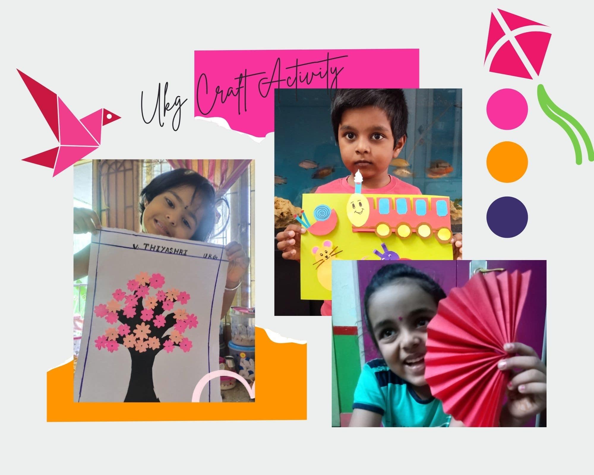 origami activity for kindergarten