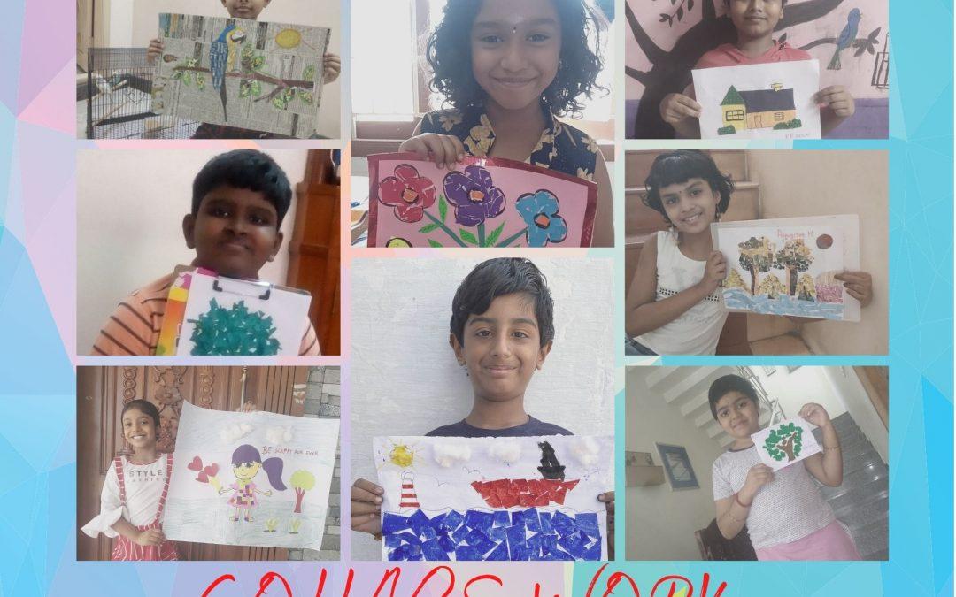 Paper Collage Grade 4