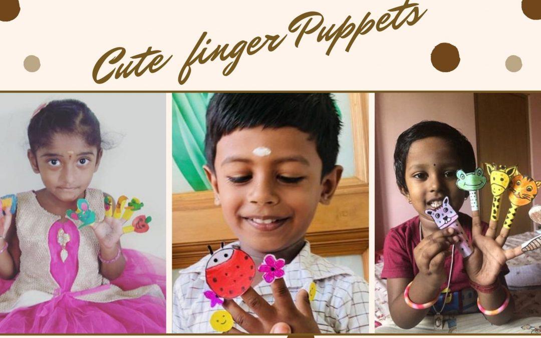 Finger Puppets – LKG Activity 2021
