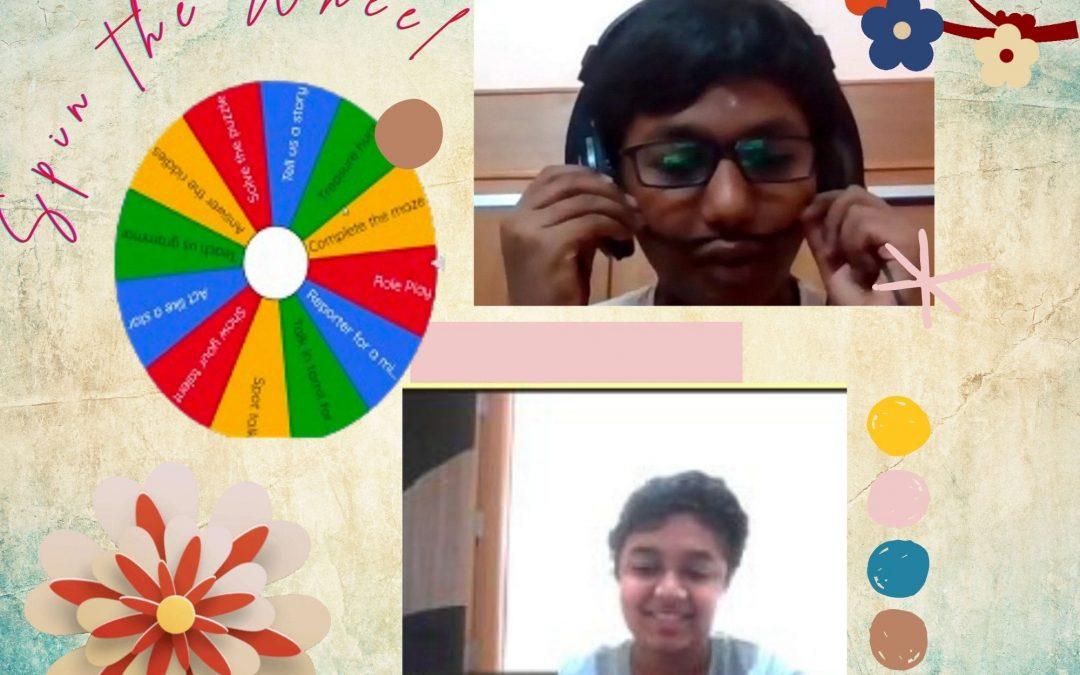 Spin Wheel Activity 2021