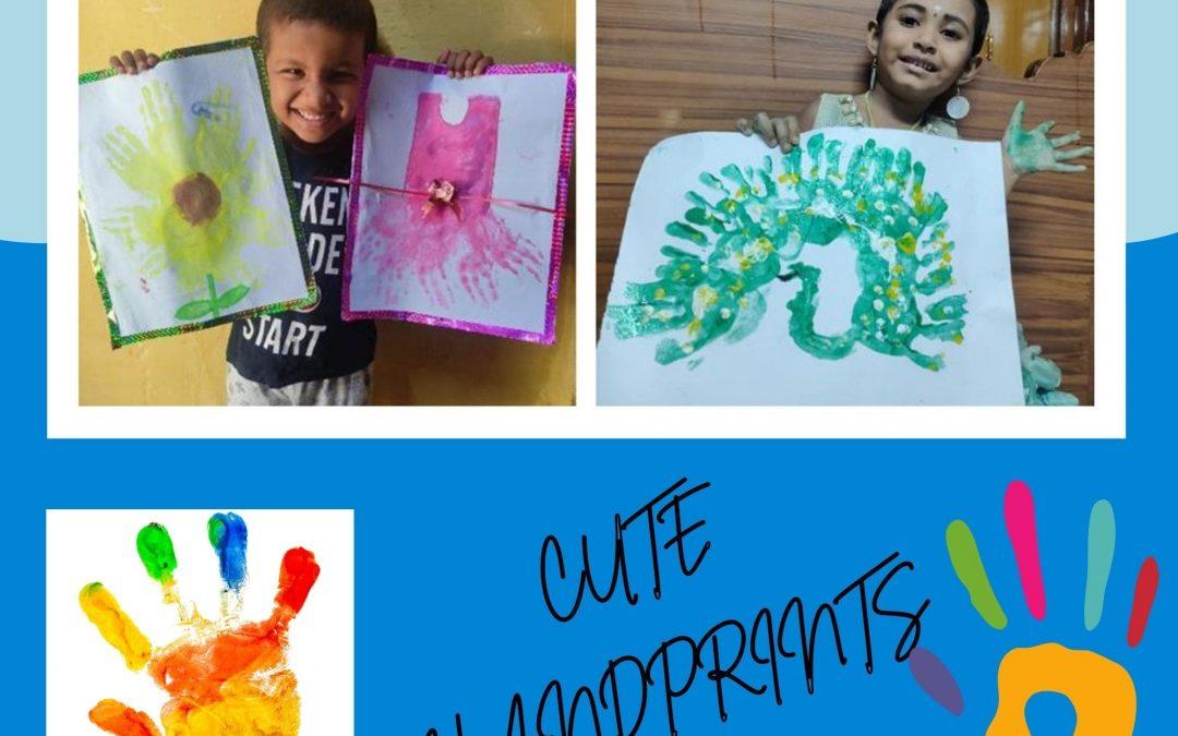 Kindergarten Handprint