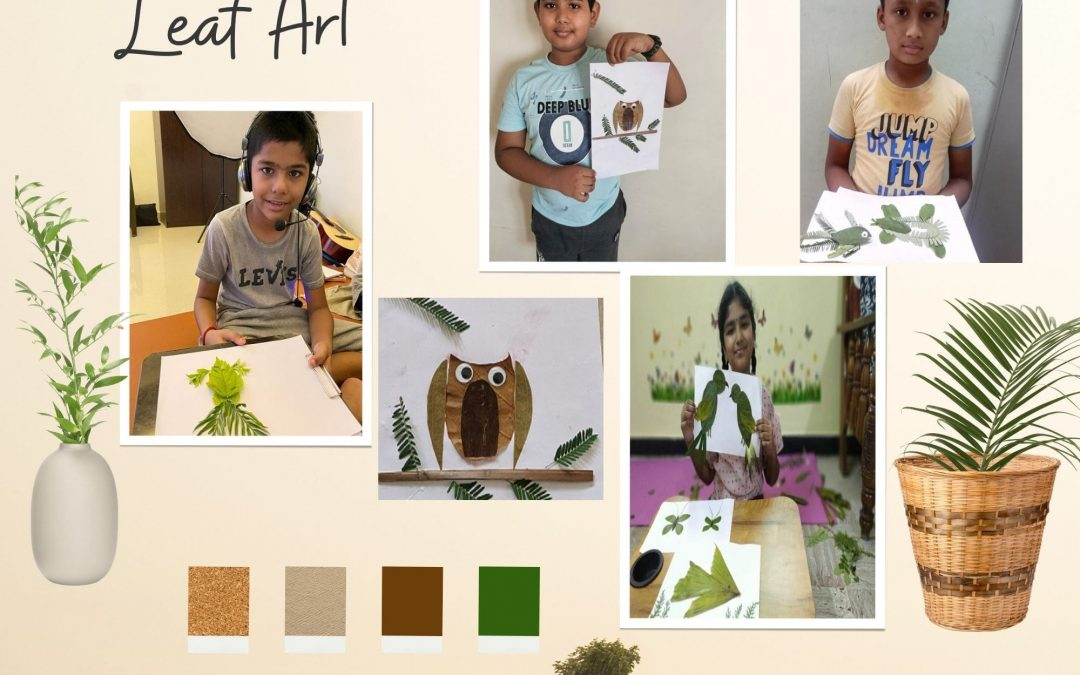 Leaf Art – Grade 5 Children