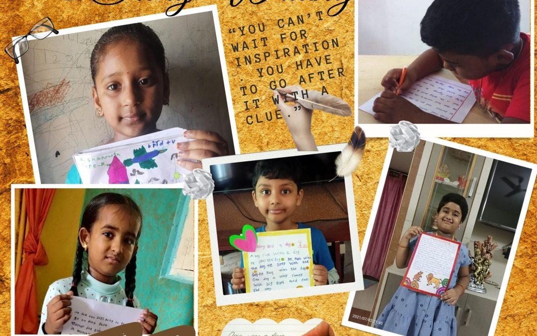 Story Writing – Grade 2 Activity
