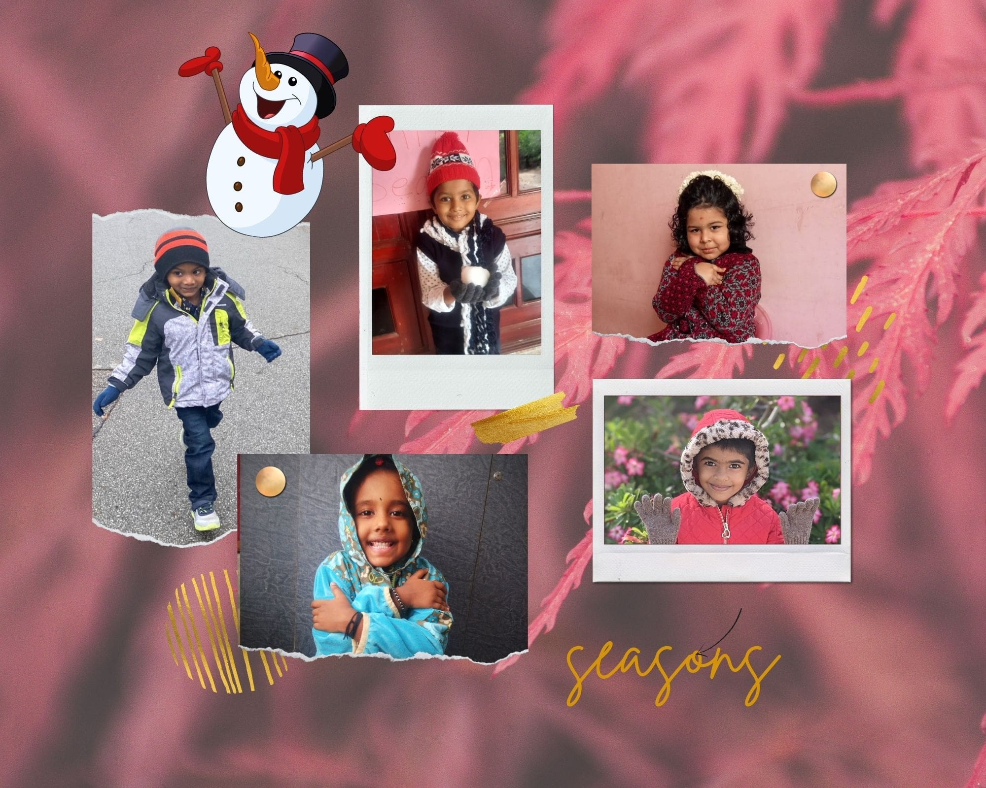 seasons for kindergarten