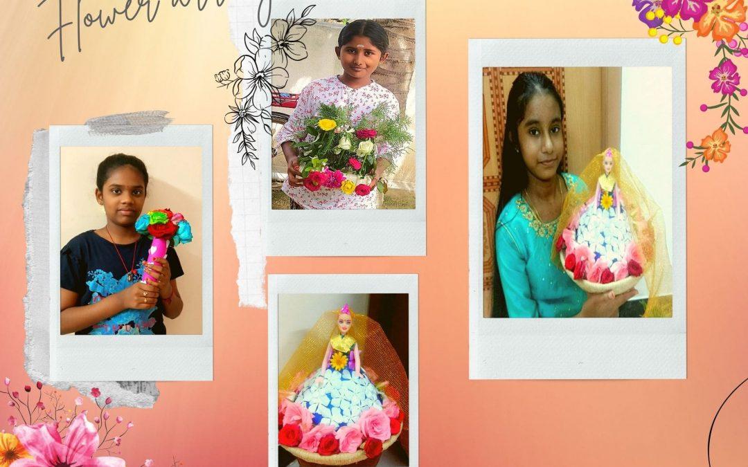 Flower Arrangements – Grade 7